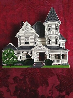 Shelia's Collectibles Houses JITMAN HOUSE, Belvidere, NJ 1994 - Signed 510/3300