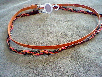 Brand New Girl's 2 Pack Of Size S/m Belts