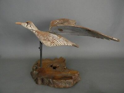 "EARLY 1900's EXTREMELY RARE FLYING GULL WEATHER VANE AUGUSTUS ""GUS"" WILSON MAINE"