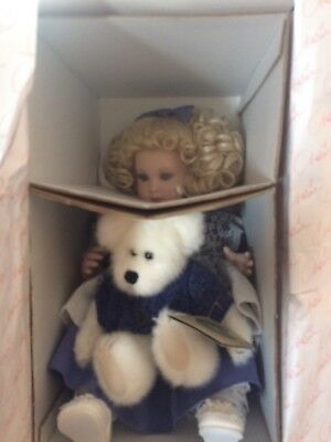 Marie Osmond Doll ~ Quite a Pair ~ Beary Best Friends Dolly and Beary Winkle NIB