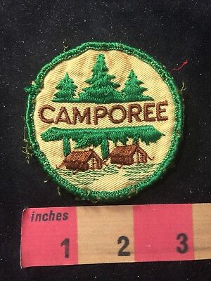 Vintage (circa early 1970s) CAMPOREE BSA Boy Scouts Patch 83N