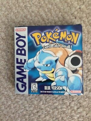 Original Pokemon Blue Edition - Box Only -- Game NOT Included