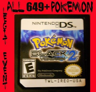Pokemon Black 2 Loaded With All 649 + 60 Legit Event Unlocked Poketransfer Bank