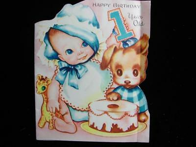 "Vintage ""you're So Big, Sweet And Dear!!"" Birthday Greeting Card"