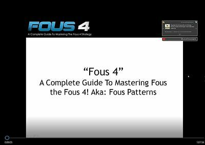 *UPDATED* CAMERON FOUS - FOUS4 + FOUS 4x2 Trading System -Plus Extras-