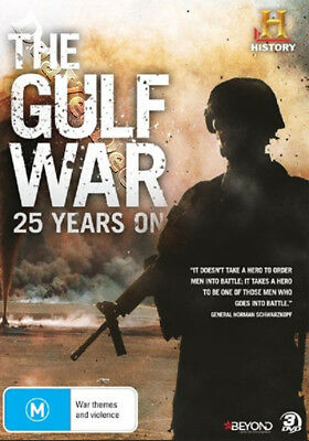 The Gulf War: 25 Years On NEW PAL Series Cult 3-DVD Set M. Stiller Thom Beers