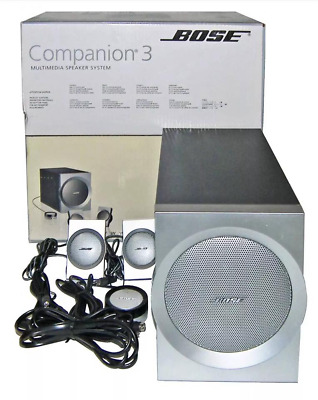 Bose Companion 3 Series I Speakers (with woofer)