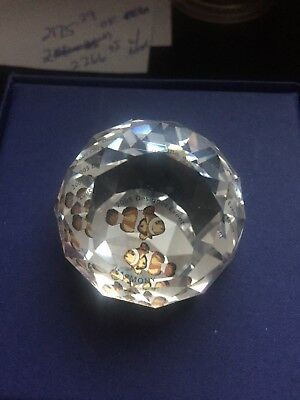 Swarovski Crystal SCS 2005 Designer Event Harmony Ball Paperweight 40mm