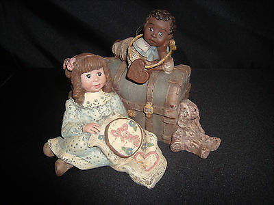 Sarah's Attic Forever Friends LTD Collectors Club Love Starts With Children #702