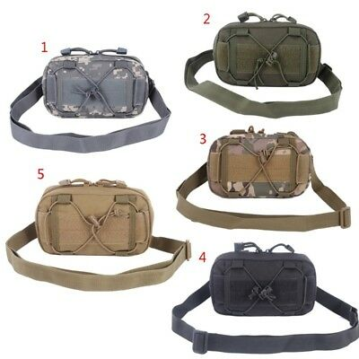 Tactical 600D Molle Waist Pack Belt Bag Outdoor Hiking Military Pouch Wallet 1pc