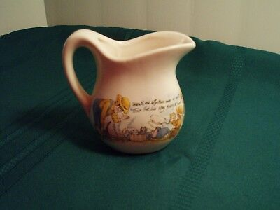 McCoy pitcher/creamer USA small, warmth and affection near or apart