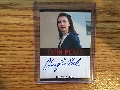 Chrysta Bell Autograph Card Twin Peaks Rittenhosue Limited Event Version