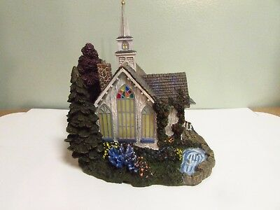 Thomas Kinkade Hawthorne Village: CHRISTMAS CHAPEL w/COA Christmas House
