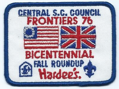 1976 Central SC Council Fall Roundup Patch
