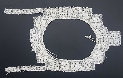 Antique Vintage Crochet Lace Yoke for Bodice Camisole Nightgown