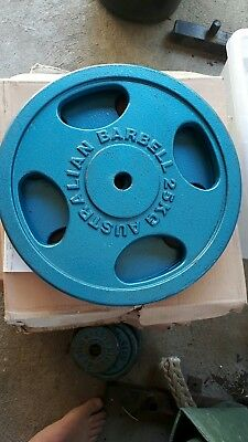 2 x 25kg WEIGHT PLATE