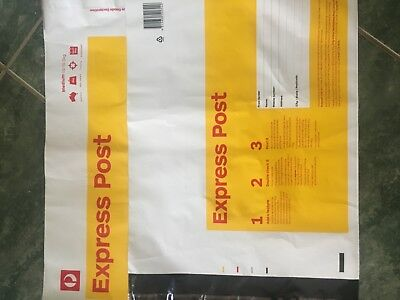 5 X 3 Kg Express Post Prepaid Satchels With Tracking