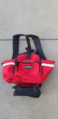 True North Red Medic Fire Fighter Service Bag Red