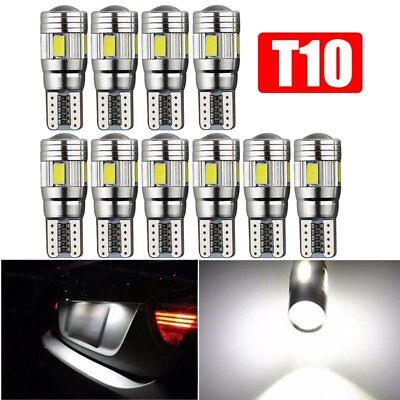 10x T10 501 194 W5W 5630 LED SMD Car HID Canbus Error Free Wedge Bulb Lamp Light