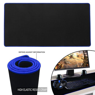 60*30cm Gaming Mouse Pad Mat For PC Laptop Macbook Anti-Slip Extra Large XL