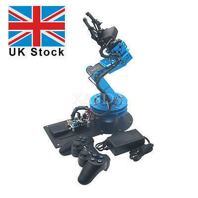 LeArm Unassembled 6DOF Mechnical Robotic Arm& 6PCS Digital Servo&Handle Control*
