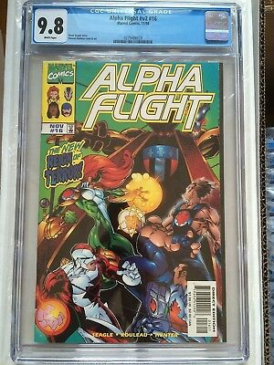 CGC 9.8 Alpha Flight #v2 #16 *White*2015*1st App. Big Hero 6*New Case*