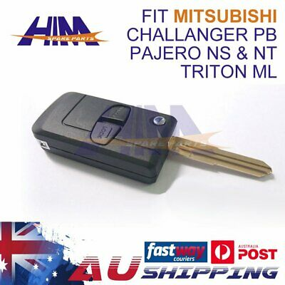 fit Holden Barina/Cruze/Trax 3 Button Remote Flip Key Blank Shell/Case