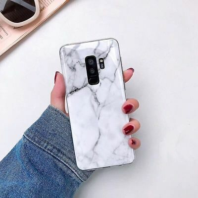 Marble Shockproof Soft Shell Phone Case Cover For Samsung Galaxy S8 S9 Note 8 9