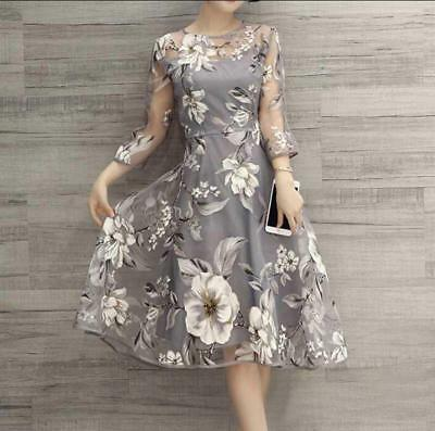 Women Summer Boho Long Maxi Dress Evening Cocktail Party Casual Floral Dresses