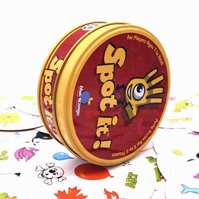 Funny Card Game Spot It Game Dobble Board  For Children Family Gathering Party