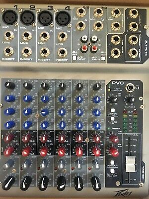 Peavey PV8 8 Channel Mixer