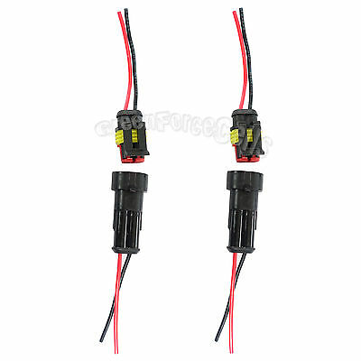 WMYCONGCONG 5 Kits 16 Pin Way Waterproof Electrical Connector Plug for Car Automotive