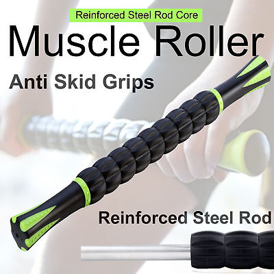New Muscle Roller Massage Stick for Fitness Sports Physical Therapy Recovery