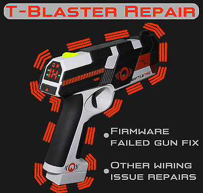 Ubisoft Battle Tag T-blaster Gun Repair