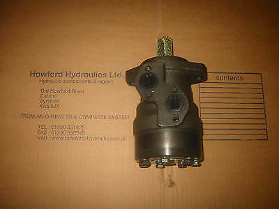 M+S Eprmn100C Hydraulic Motor 100Cc(Danfoss Omr Replacement)25Mm Shaft-Empr100M
