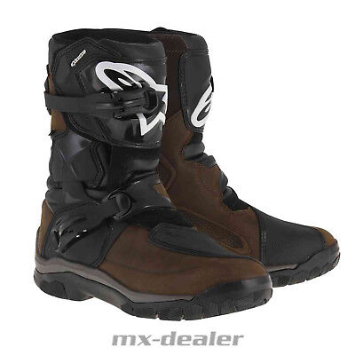 2019 Alpinestars Belize Drystar Touring Adventure Enduro Stiefel oiled braun