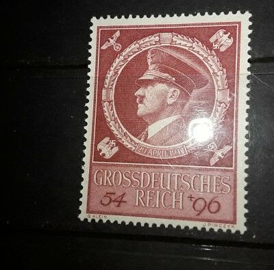 DR 1944 Hitlers 55th birthday mnh
