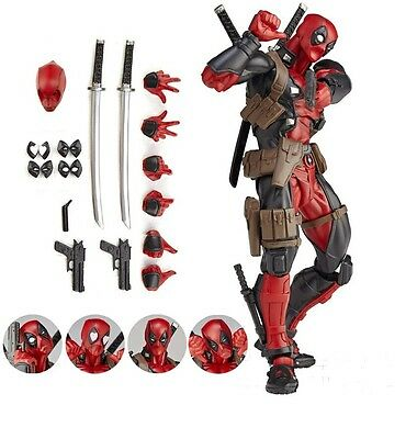 15cm Legends X-men DEADPOOL Action Figur Revoltech Kaiyodo Verison Spielzeug Neu