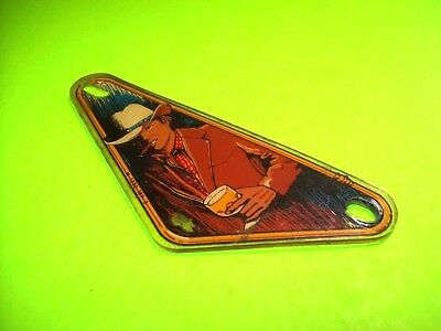 Bally Eight Ball Deluxe Used Pinball Machine Plastic Sling Shot Shield Left Only