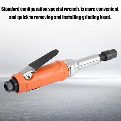 """Extended Mini Air Die Grinder 230mm Extra Long 1/4"""" Pneumatic Rotary Tool Carve"""
