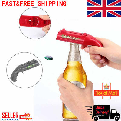 Beer Bottle Opener, Beer Drink Bottle Opener Cap Launcher Cap Gun Launcher Lot