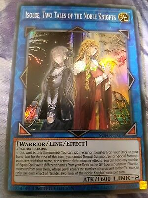 Yugioh! Isolde, Two Tales of the Noble Knights - SOFU-ENSE1 ~Super Rare~ (nm/m)