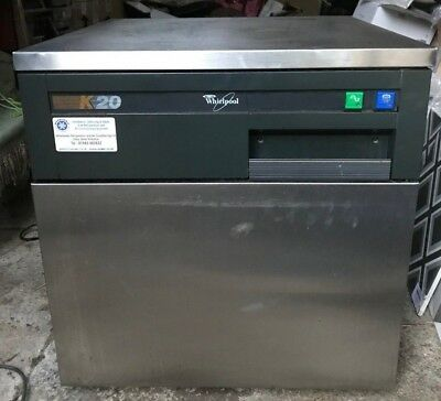 Whirlpool K20 Ice Maker Machine Air-Cooled Compact AGB022 Spares or Repair