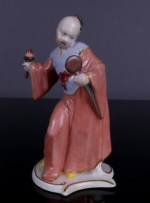 Nymphenburg porcelain, Chinese top quality