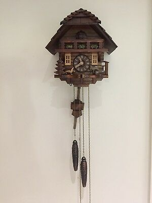 Traditional Black Forest Cuckoo Clock with original box and certificate