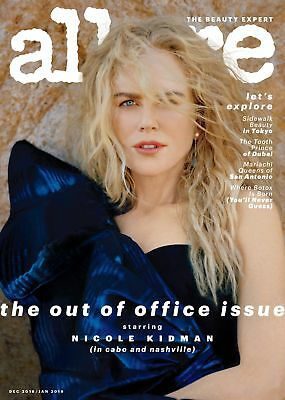 ALLURE*US Magazin*Nicole Kidman*Dezember 2018*TOP*Out of Office Issue*