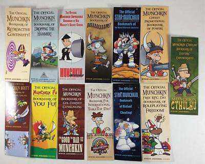 Steve Jackso Munchkin Munchkin Bookmark Collection - 13 Promo Bookmarks Zip NM+