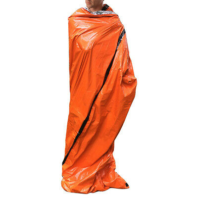 Outdoor Reusable Emergency Sleeping Bag Thermal Waterproof Survival Camping Sack