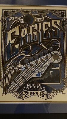 The Eagles 2018 North American Tour Poster - NEW - Limited Edition DON HENLEY