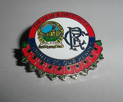Linfield FC Rangers FC Badge The Blues Frères
